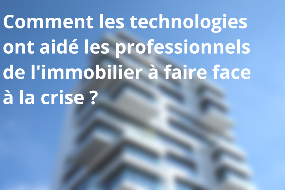 technologies immobilier